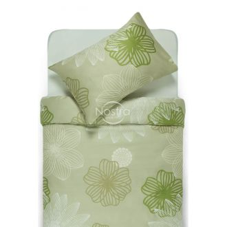 Sateen bedding set AGNIA 20-1445-PALE OLIVE