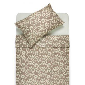 Sateen bedding set ALANNA 40-0567-BEIGE