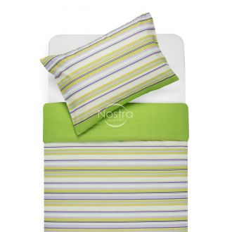 Cotton bedding set DAKOTA 30-0249-GREEN LILAC