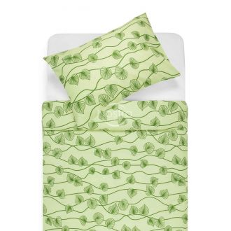 Cotton bedding set DALARY 40-0649-GREEN