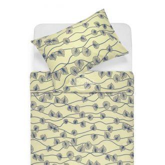Kokvilnas gultas veļa DALARY 40-0649-GREY/CREAM