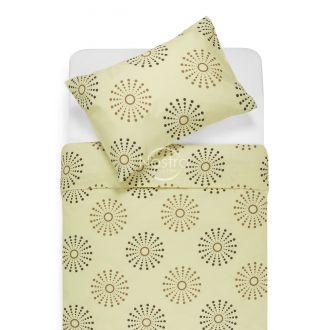 Cotton bedding set DOXIE 30-0270-BROWN