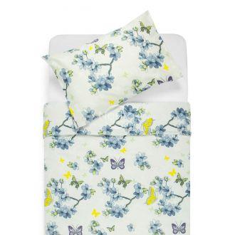 Cotton bedding set DEBS 20-0169-BLUE