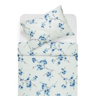 Cotton bedding set DOLLEY 20-0085-BLUE