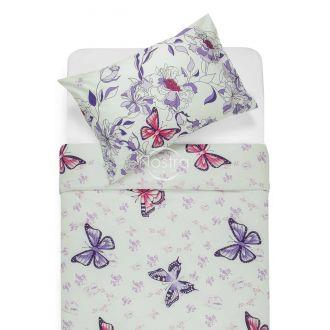 Kokvilnas gultas veļa DANA 40-1043-VIOLET