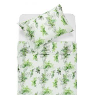 Kokvilnas gultas veļa DUSTY 20-0405-GREEN