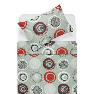 Kokvilnas gultas veļa DARLA 30-0505-RED
