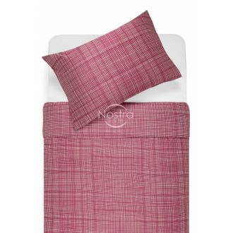 Sateen bedding set APPLE 30-0485-FUCHSIA