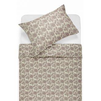 Renforcé bedding set NAOMI 40-1004-EXC.GREY