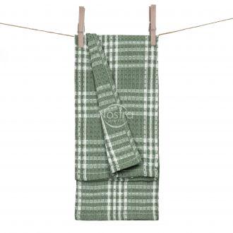 Kitchen towel WAFEL-240 T0101-GREEN