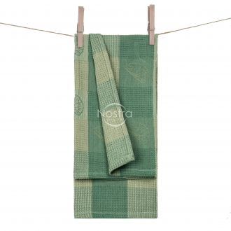 Kitchen towel WAFEL-240 T0104-GREEN