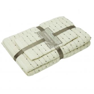 3 pieces towel set T0107 T0107-WHITE