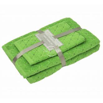 3-х предм. набор полотенец T0107 T0107-JASMINE GREEN