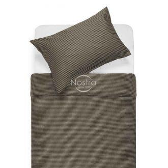 Satīna gultas veļa AGATHA 30-0424-CHOCO