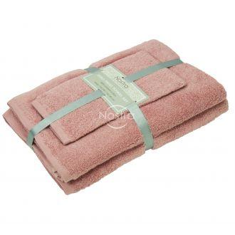 3 pieces towel set 380 ZT 380 ZT-TEA ROSE