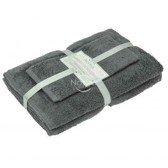 3 pieces towel set 380 ZT 380 ZT-STEEL GREY