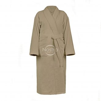 Bathrobe VELOUR-430 430 BATHROBE-BROWN