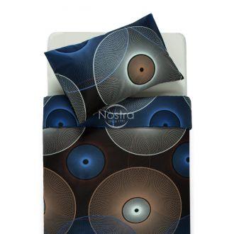 Satīna gultas veļa ADELITA 30-0285-BLUE