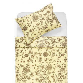 Cotton bedding set DRUCIE 20-0028-CREAM
