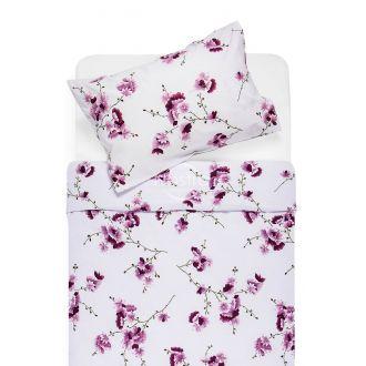 Cotton bedding set DOLLEY 20-0085-PLUM