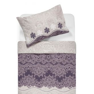 Cotton bedding set DENIM 40-1007-PLUM