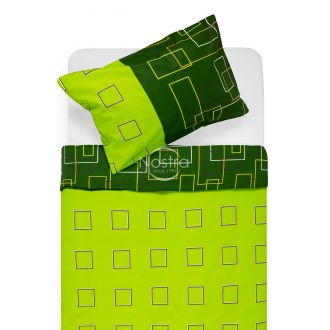 Cotton bedding set DELILAH 30-0248-GREEN
