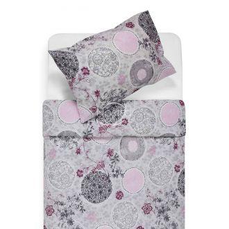 Cotton bedding set DAYRA 40-1031-GREY