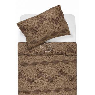 Cotton bedding set DEMETRIA 40-1140-BROWN