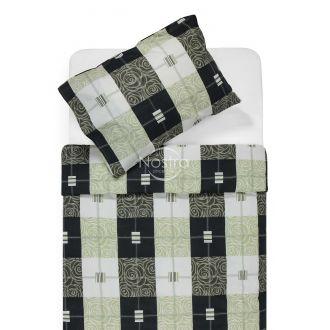 Cotton bedding set DYNA 40-1078-KHAKI