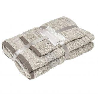 3 pieces towel set T0106 T0106-SAND