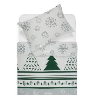 Flannel bedding set BRISA 10-0550-GREY