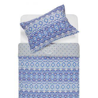 Flaneļa gultas veļa BRIDGET 40-1165/40-1166-BLUE