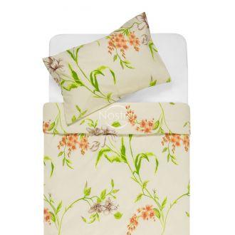Kokvilnas gultas veļa DERVAL 20-1522-BROWN