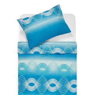 Kokvilnas gultas veļa DERBY 30-0562-OCEAN BLUE