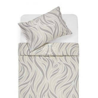 Flannel bedding set BARBARA 30-0602-GREY