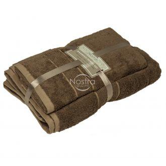 Бамбуковые набор полотенец BAMBOO-600 T0105-GINGER BROWN