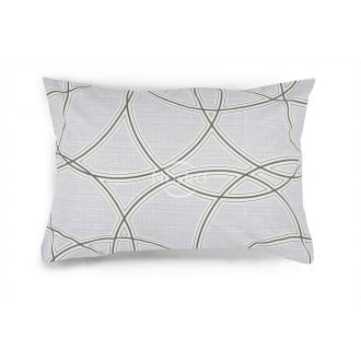 Flannel pillow cases with zipper 40-1164-GREY