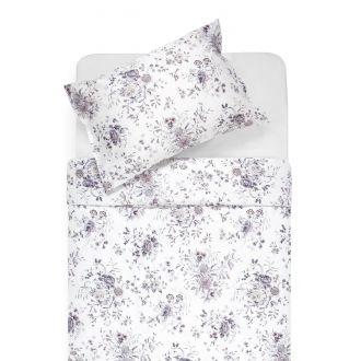 Satīna gultas veļa ANNA 20-0767-WHITE