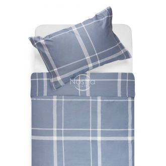 Sateen bedding set ADALWOLFA 30-0548-STONE BLUE
