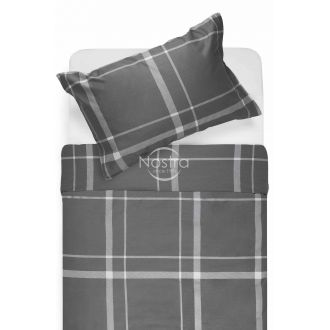 Satīna gultas veļa ADALWOLFA 30-0548-DARK GREY