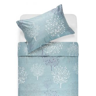 Sateen bedding set ADDISON 40-1118-MINERAL BLUE