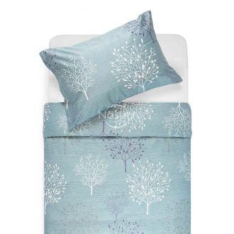 Satīna gultas veļa ADDISON 40-1118-MINERAL BLUE