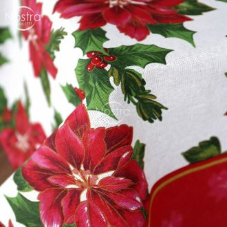 Cotton tablecloth 40-0331-WHITE