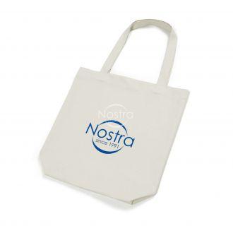 Bioloģiskā kokvilna iepirkumu soma 00-0076-NATURAL LOGO