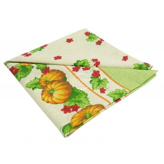 Cotton tablecloth 40-0328-WINE RED