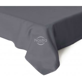 Flat sateen sheets 00-0240-IRON GREY
