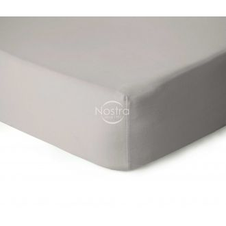 Fitted jersey sheets JERSEYBTL-SILVER GREY