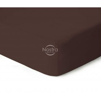 Fitted jersey sheets JERSEYBTL-CHOCOLATE