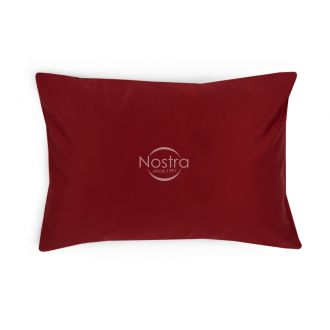 Dyed sateen pillow cases 00-0023-WINE RED