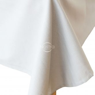 White cotton sheet 00-0000-OPT.WHITE
